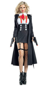 Party King PK1945 Gangster Babe Costume - A