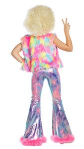 Party King PK1949C Girls Dancing Queen Disco Cutie Costume - B
