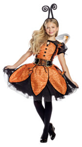 Party King PK1950C Girls Monarch Butterfly Costume - A