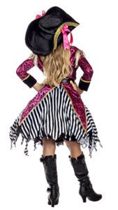 Party King PK1951C Girls Seven Seas Pirate Costume - B