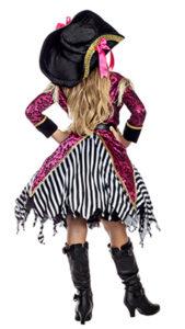 Party King PK1951C Girls Seven Seas Pirate Costume - B