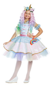 Party King PK1956C Girls Magical Unicorn Costume - A