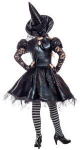 Party King PK1957C Girls Dark Witch Costume - B