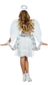 Party King PK1961C Girls Heaven Sent Angel Costume - B