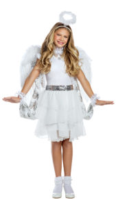 Party King PK1961C Girls Heaven Sent Angel Costume - A