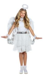Party King PK1961C Girls Heaven Sent Angel Costume - A