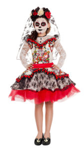Party King PK843C Girls La Novia Costume - A