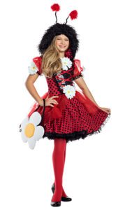 Party King PK911C Girls Ladybug Cutie Costume - A