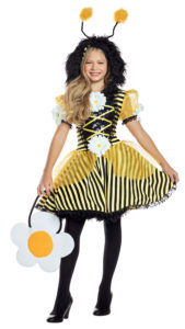 Party King PK912C Girls Honey Bumblebee Costume - A