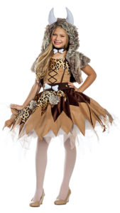 Party King PK914C Girls Prehistoric Cutie Costume - A