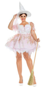 Part King PK946XL Plus White Magic Witch Costume - A