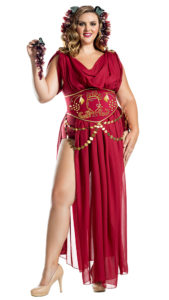 Party King PK1901XL Plus Wine Goddess Costume - A