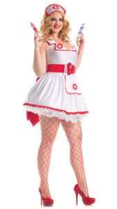 Party King PK308XL Plus Naughty Nurse Costume - A