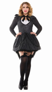 Party King PK407XL Plus Bad Dreams Babe Costume - A