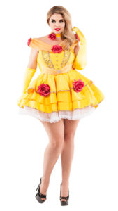 Party King PK858XL Plus Belle of the Ball Costume - A