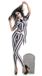 Party King PK264 Women's Graveyard Ghost Costume - A