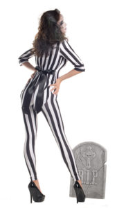 Party King PK264 Women's Graveyard Ghost Costume - B