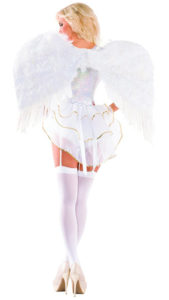 Party King PK441 Women's Sweet Angel Deluxe Costume Costume - B