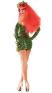 Party King PK451 Women's Poisonous Villain Costume - B