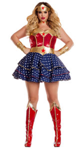 Party King PK819XL Women's Wonderful Sweetheart Plus Size Costume - A