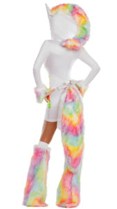 Party King PK863 Rainbow Unicorn Womens Costume - B