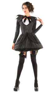 Party King PK407 Women's Bad Dreams Babe Costume - A