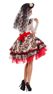 Party King PK843 Party King Women's La Novia Costume - B