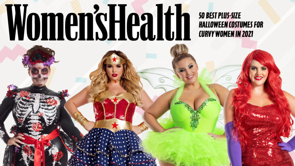 Women's Health Magazine Party King & Starline Plus Size Costumes