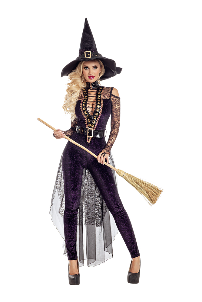 Party King Midnight Violet Witch