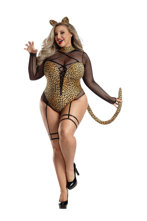 Party King PK2116XL PLUS Meow Leopard Costume