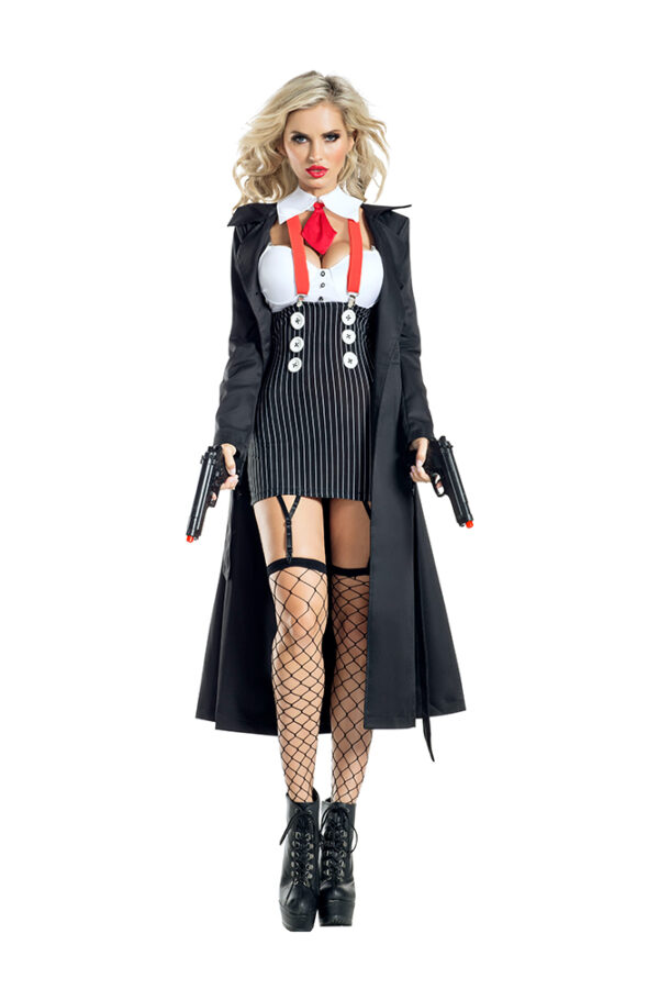 Party King 1945 Gangster Babe Costume